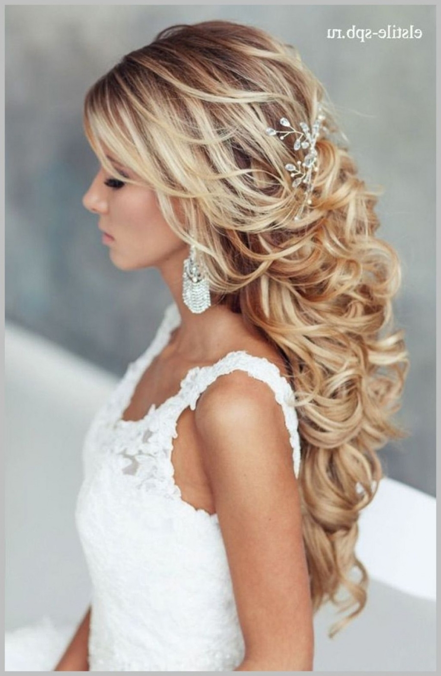 Popular Bridal Wedding Hairstyles Intended For √ 24+ Fresh Long Hair Wedding Hairstyles: Bridal Hairstyle For Long (View 9 of 15)