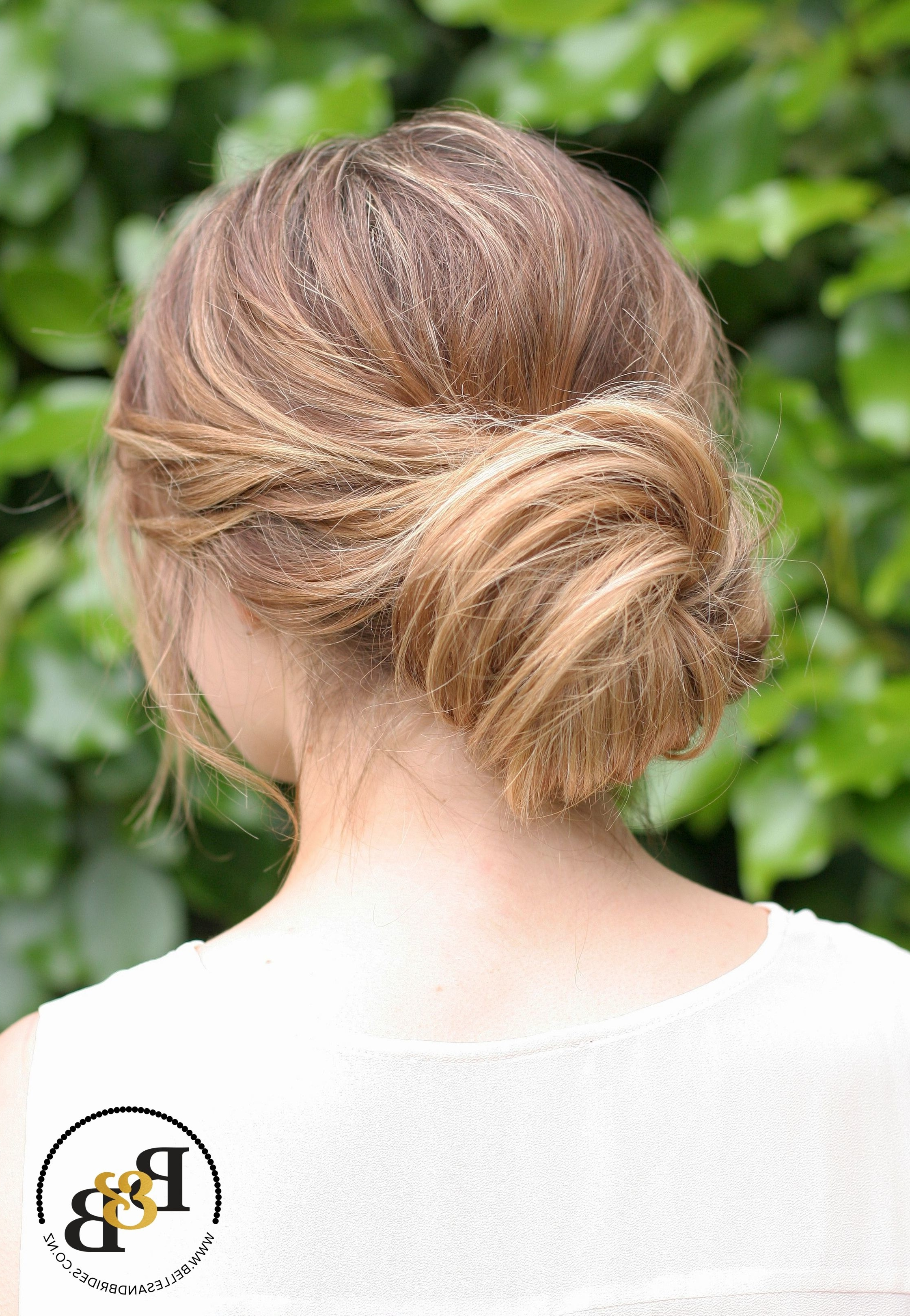 Popular Messy Updos Wedding Hairstyles Intended For Formidable Wedding Hairstyle Bun With Additional Messy Bun Messy (View 12 of 15)