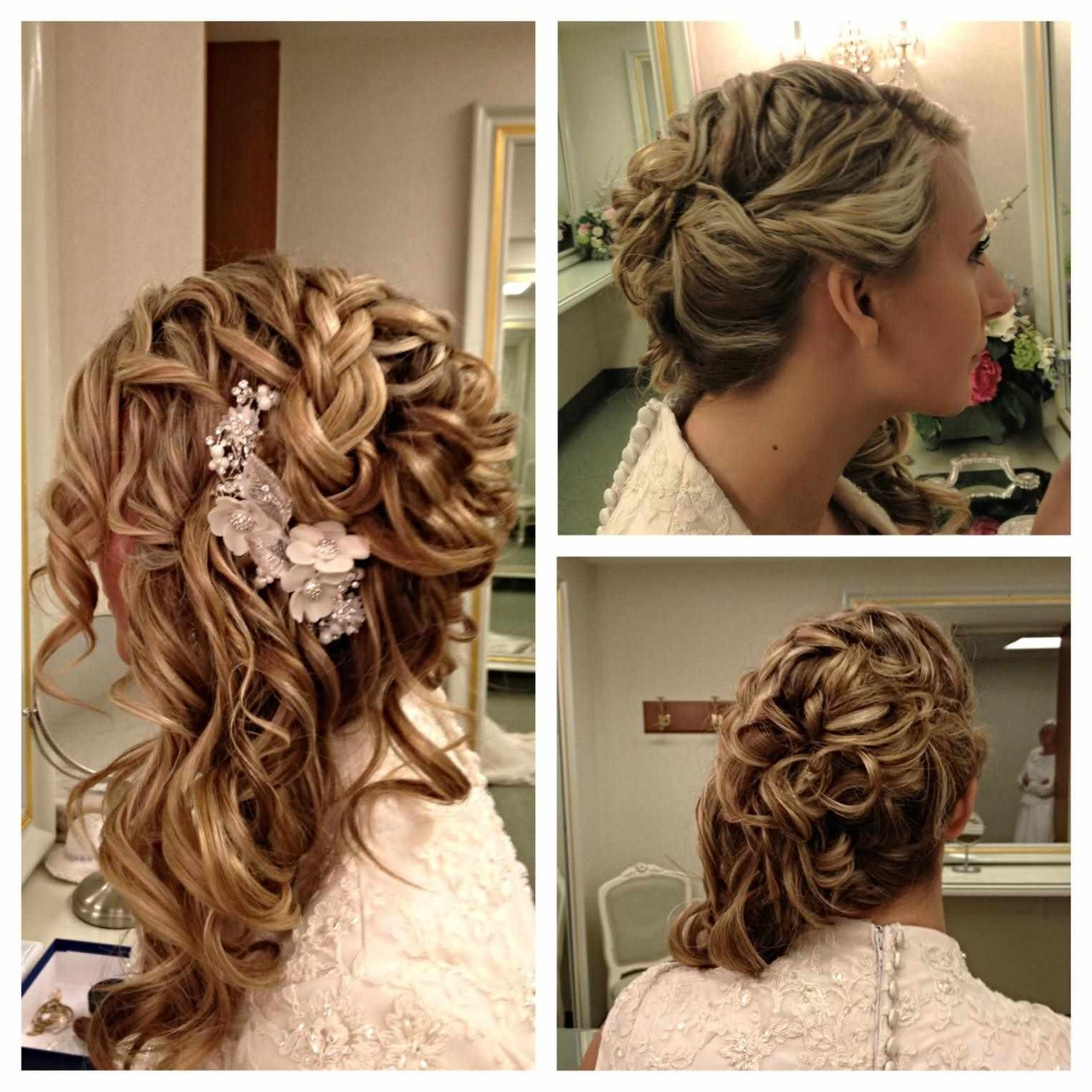 Popular Pin Curls Wedding Hairstyles Throughout Low Updo To Pin Curl Hair Pinterest Curls Low Wedding Hairstyles (View 12 of 15)