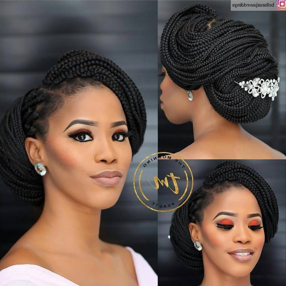 Popular Wedding Hairstyles For African Hair Throughout Amazing Bridal Hairstyles For Natural Hair Essencecom Black Wedding (View 12 of 15)