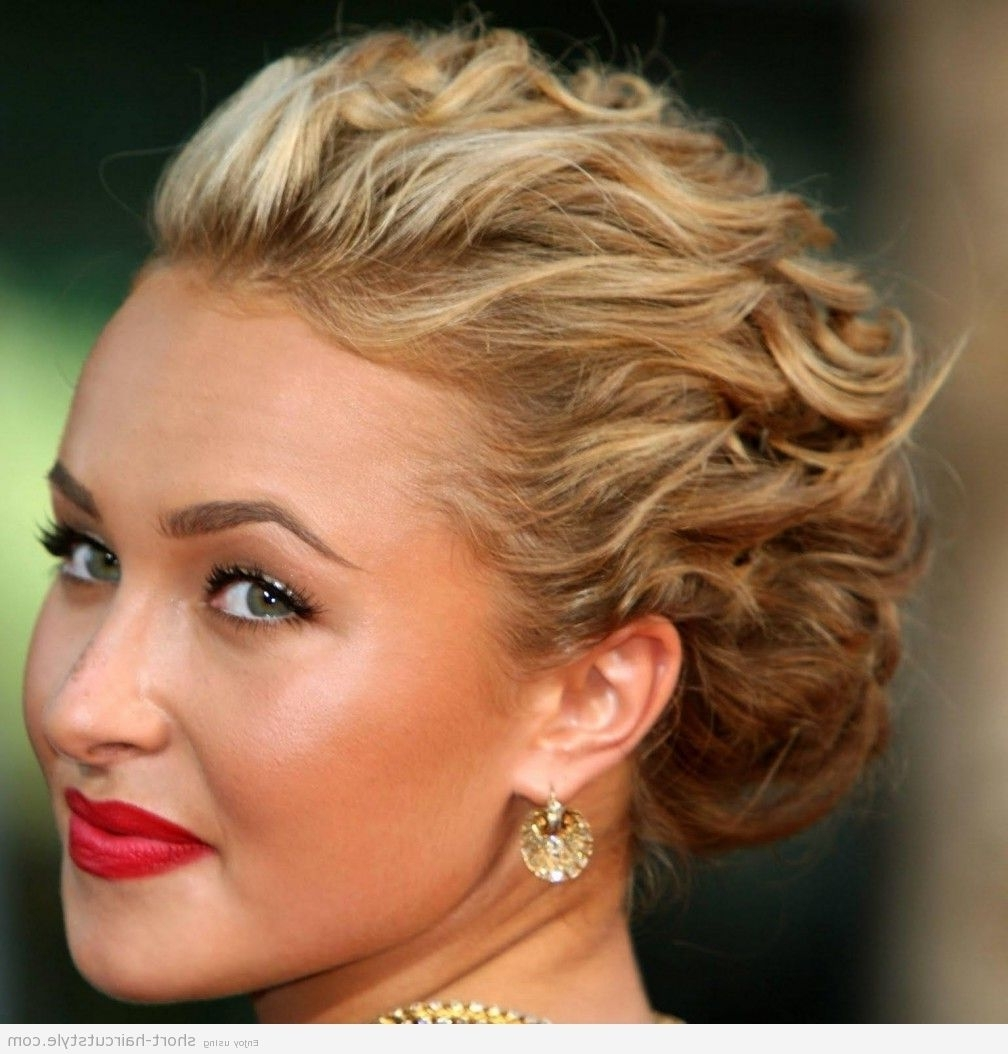 Popular Wedding Hairstyles For Bridesmaids With Short Hair In Bridal Hairstyles For Short Hair : Simple Hairstyle Ideas For Women (View 9 of 15)