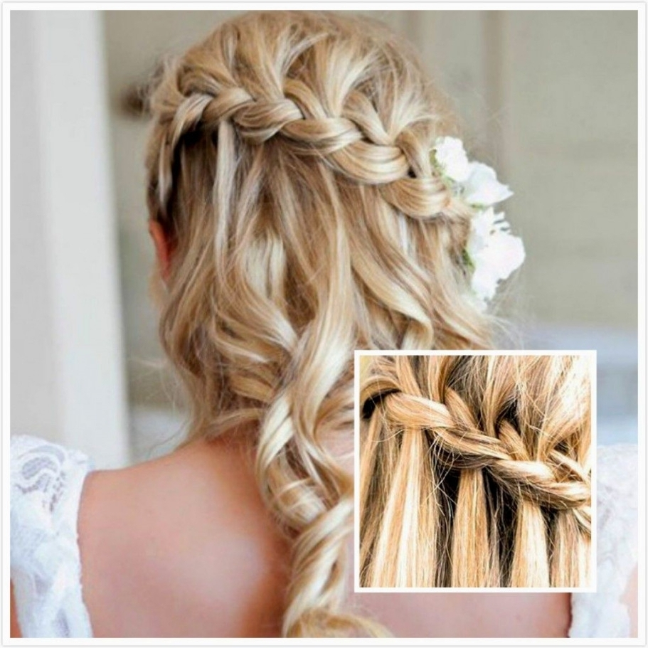 Popular Wedding Hairstyles For Medium Hair For Bridesmaids Within Wedding Hairstyles For Medium Hair Bridesmaids Unique Bridesmaid (View 7 of 15)