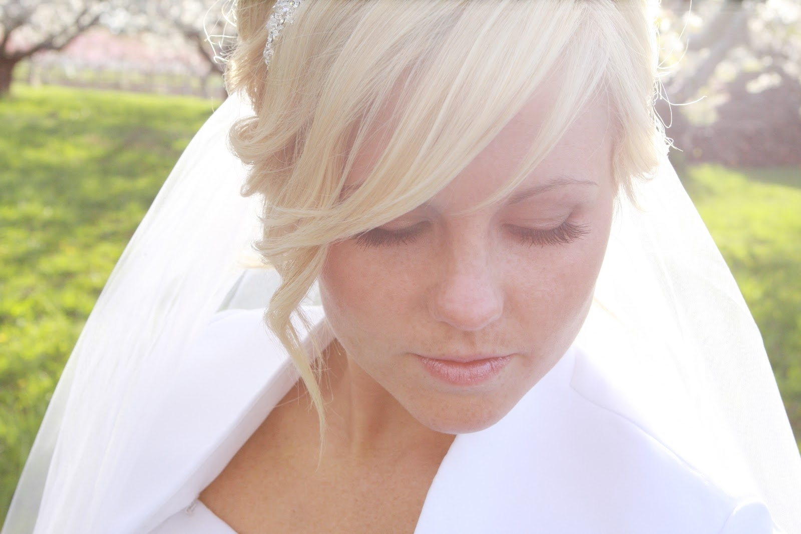 Popular Wedding Hairstyles With Fringe With Hair And Make Upsteph: How To Incorporate Your Bangs Into Your (View 15 of 15)