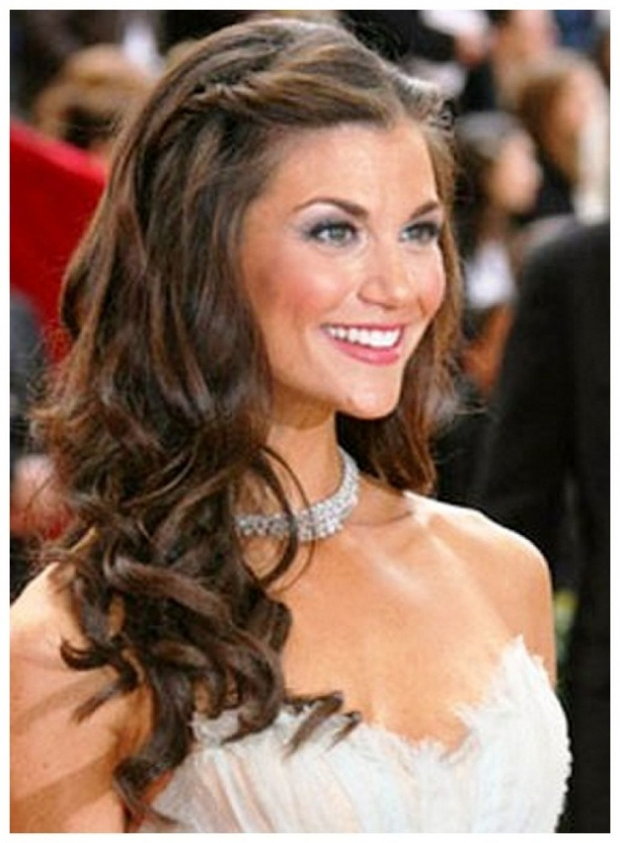 Preferred Down Long Hair Wedding Hairstyles With Long Hair Wedding Hairstyles Down (View 11 of 15)