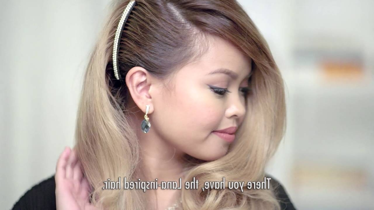 Preferred Hairstyles For Long Hair For A Wedding Party With Regard To Wedding Party Hairstyles – Youtube (View 12 of 15)