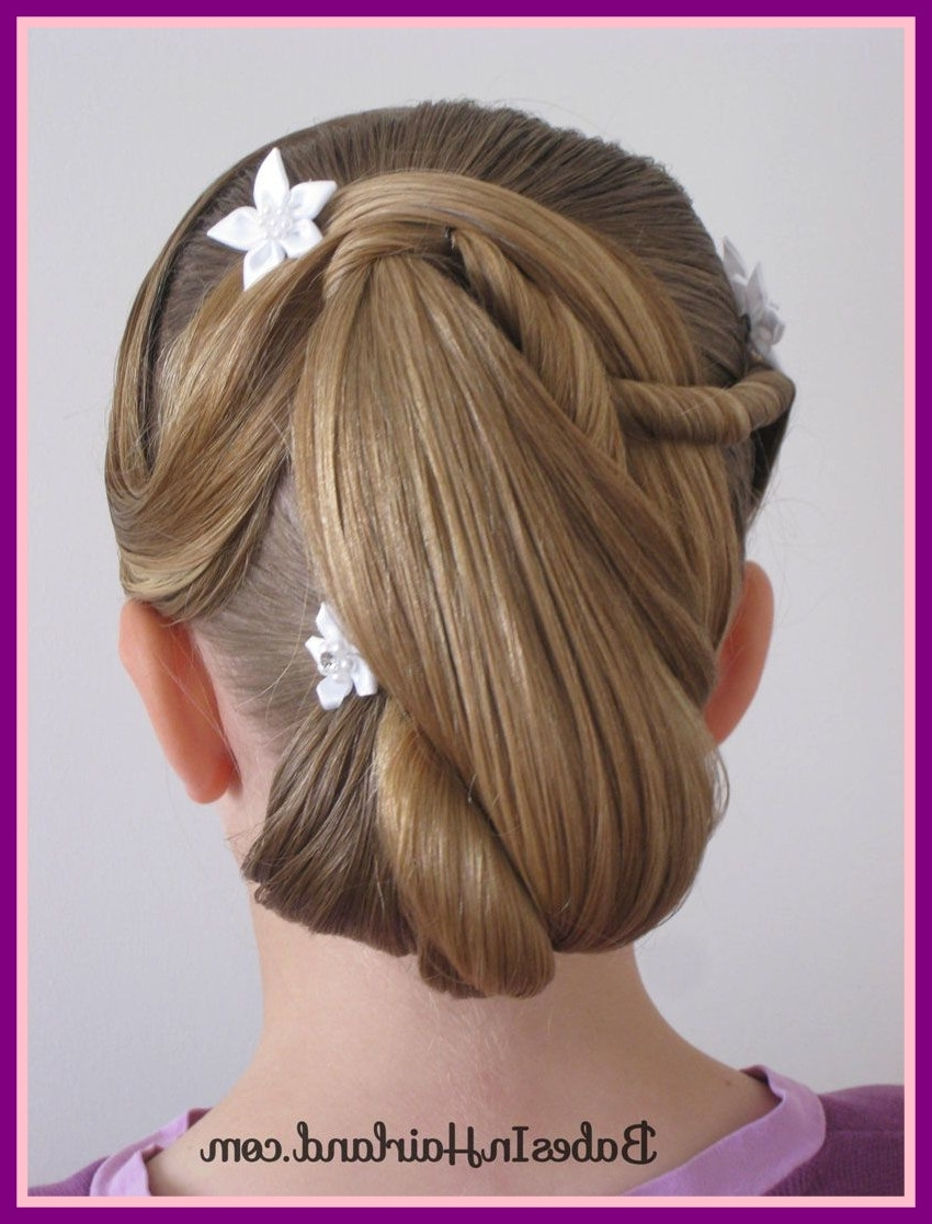 Preferred Junior Wedding Hairstyles In The Best Easter Updo And Bridesmaid Hair Pic Of Wedding Hairstyles (View 10 of 15)