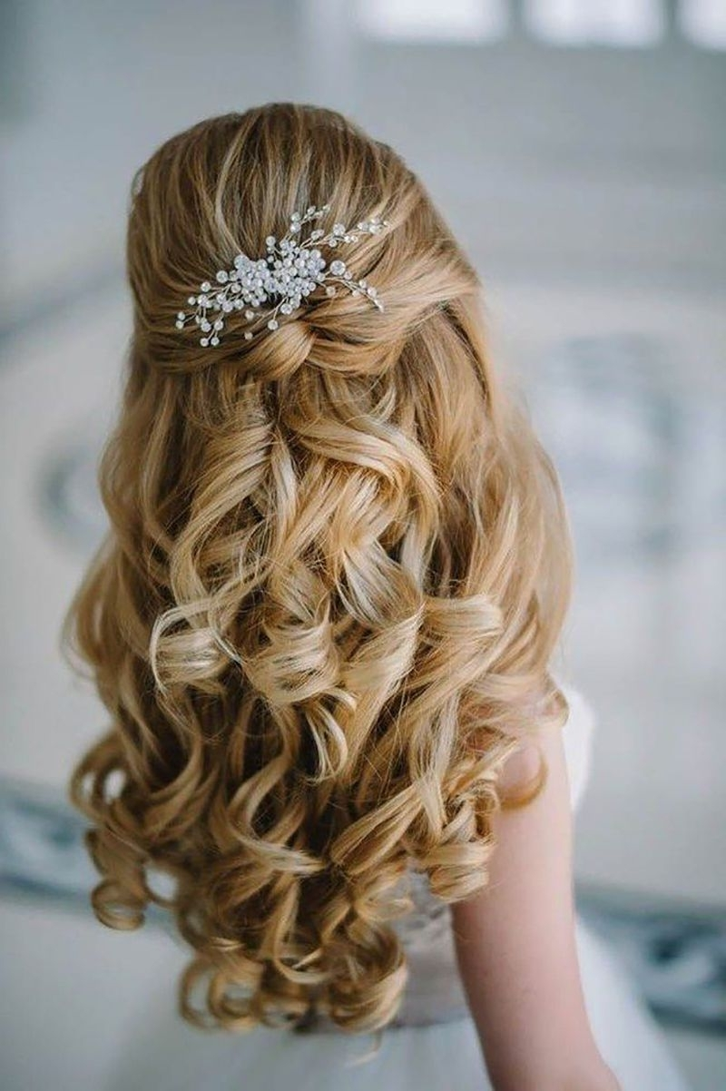 Preferred Summer Wedding Hairstyles For Long Hair Pertaining To Bridalpulse – 20 Gorgeous Wedding Hairstyles For A Summer Wedding (View 9 of 15)