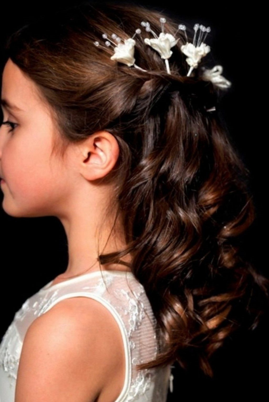 Preferred Wedding Hair For Young Bridesmaids With Regard To Beautiful Hairstyles For Little Girls For Weddings Gallery – Styles (View 13 of 15)