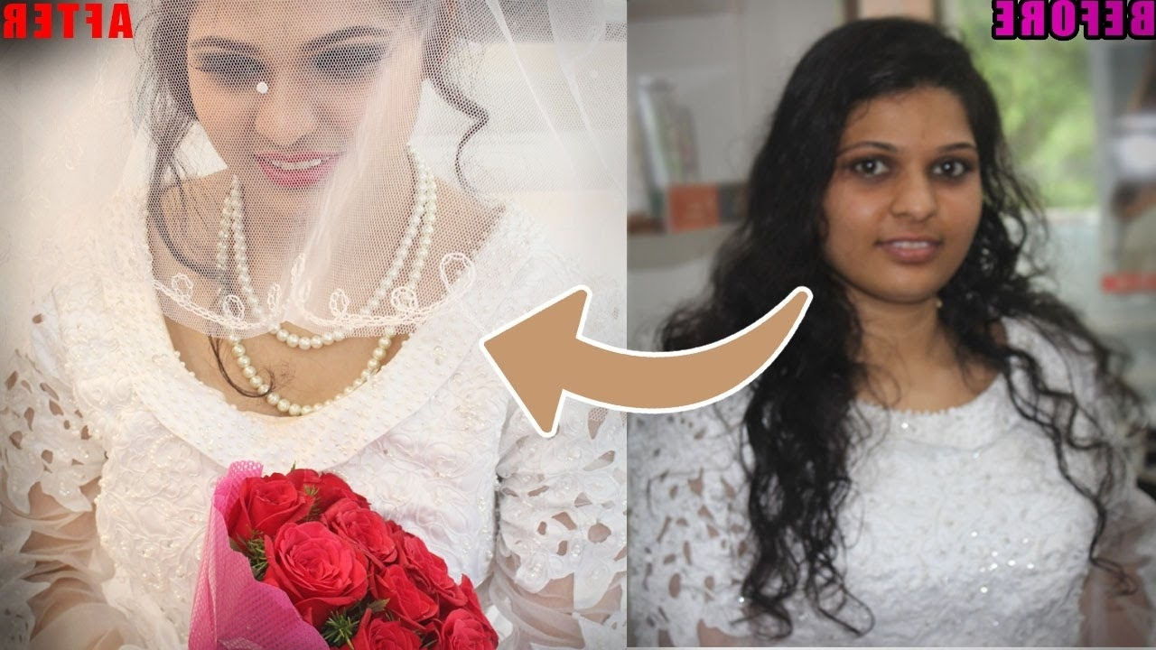 Preferred Wedding Hairstyles For Kerala Christian Brides For Christian Bridal Makeup And Hairstyle (View 4 of 15)