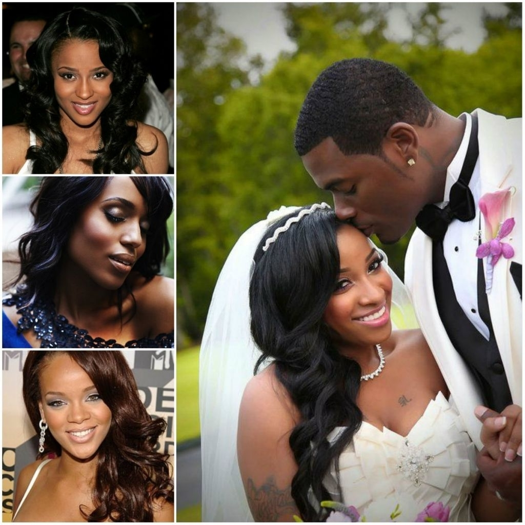 Preferred Wedding Hairstyles For Long Hair African American Inside √ 24+ Best Wedding Hairstyles African American: Tag: African (View 10 of 15)