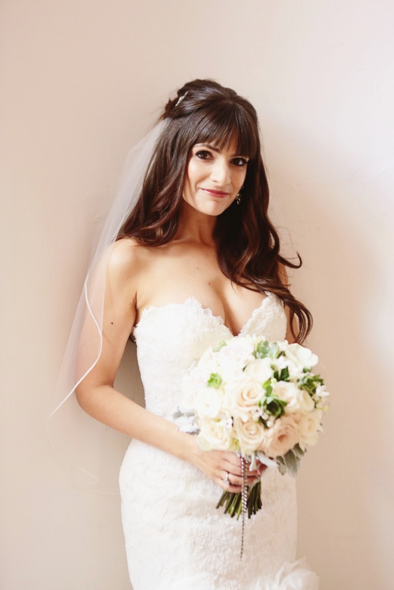 Preferred Wedding Hairstyles For Long Hair And Veil Pertaining To Seven Ugly Truth About Wedding Hairstyles With Veil For (View 14 of 15)