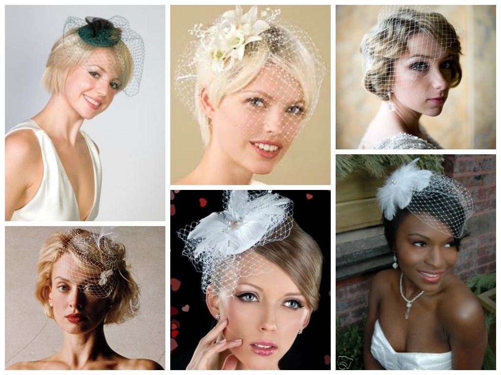 Preferred Wedding Hairstyles For Long Hair With Birdcage Veil Throughout Wedding Hairstyles With A Birdcage Veil – Hair World Magazine (View 5 of 15)