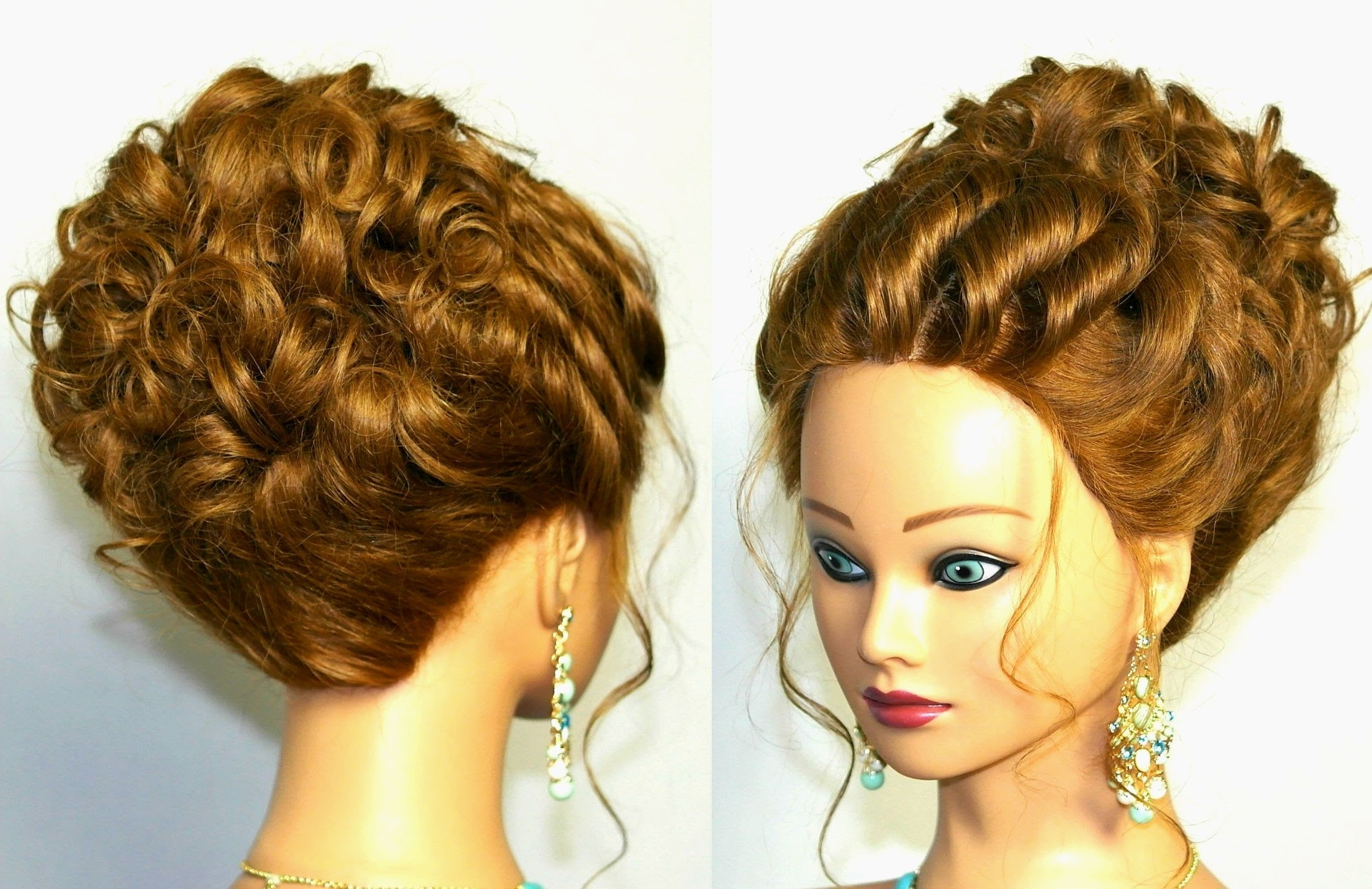 Preferred Wedding Hairstyles For Long Romantic Hair For Wedding Hairstyle For Medium Long Hair (View 11 of 15)