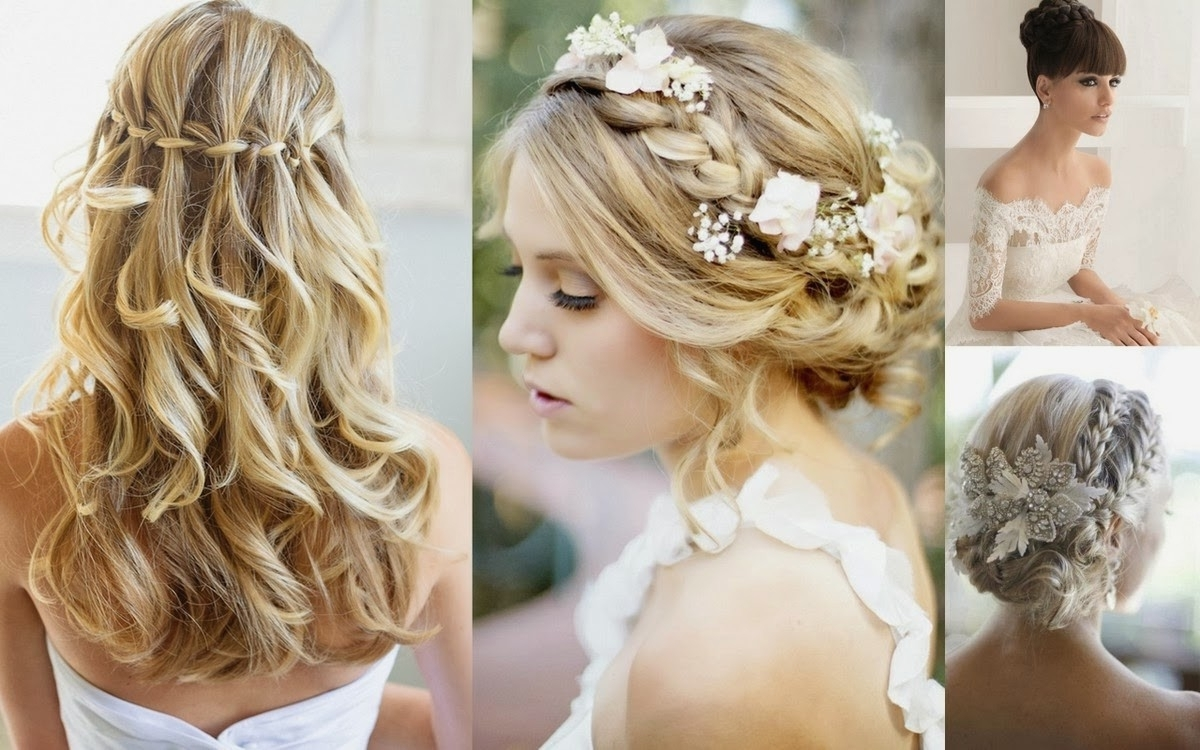 Featured Photo of Wedding Hairstyles For Medium Long Length Hair