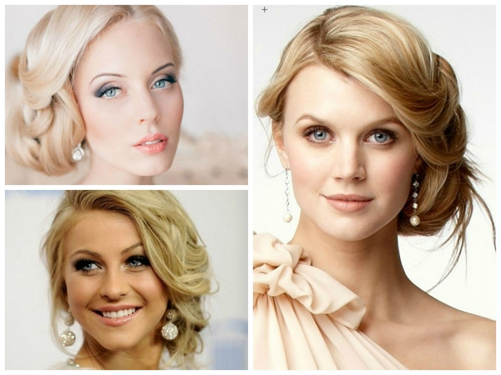 15 Inspirations Of Wedding Hairstyles For Round Faces