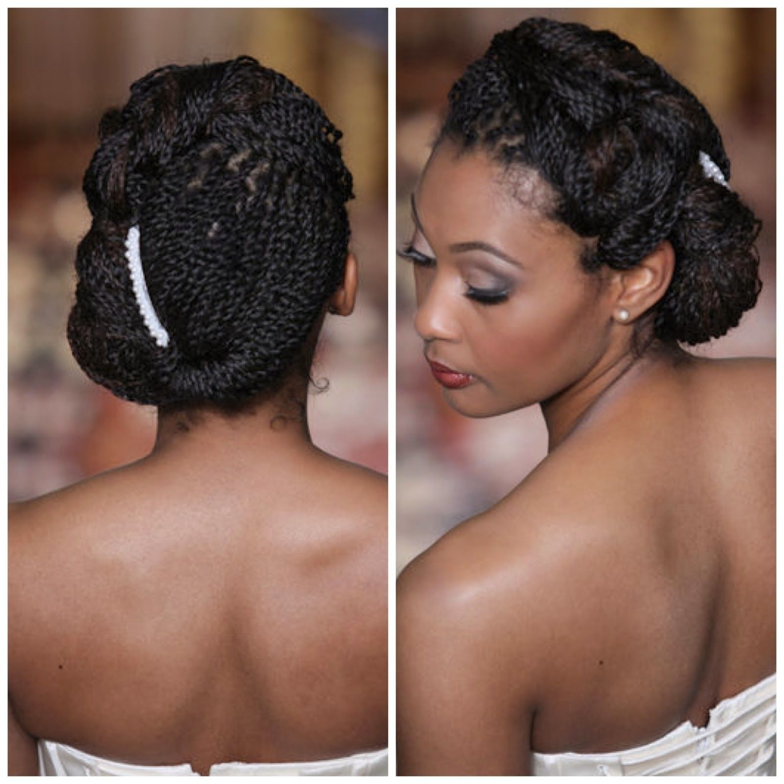 Preferred Wedding Hairstyles For Short Kinky Hair Intended For Nappilynigeriangirl: How To Prepare Your Natural Hair For A (View 12 of 15)