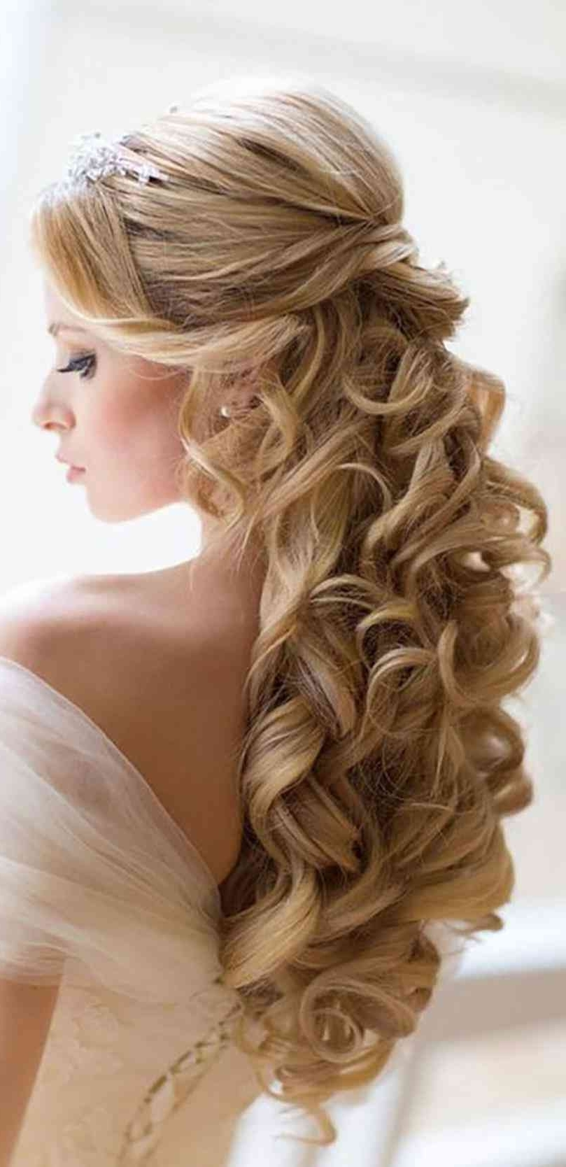 Preferred Wedding Hairstyles With Ombre Regarding Hair Women Weddings Classy Wavy Hairstyles For Wedding Guests (View 10 of 15)