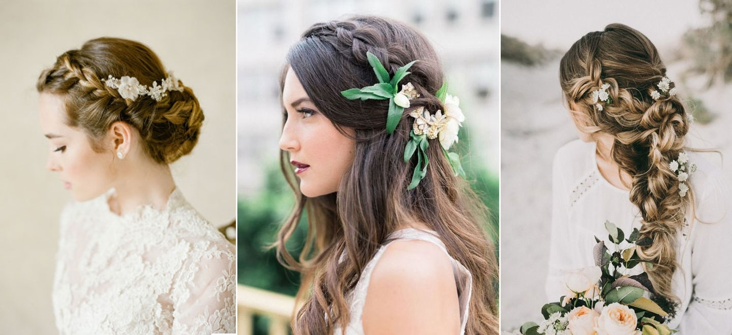Preferred Wedding Hairstyles With Plaits Inside The Braidy Bunch: Top 10 Braided Wedding Hair (View 10 of 15)