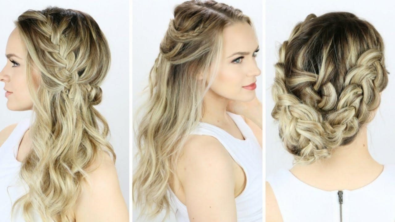 Prom Hairstyles At Home Prom Or Wedding Hairstyles You Can Do Regarding 2017 Wedding Hairstyles That You Can Do At Home (View 8 of 15)