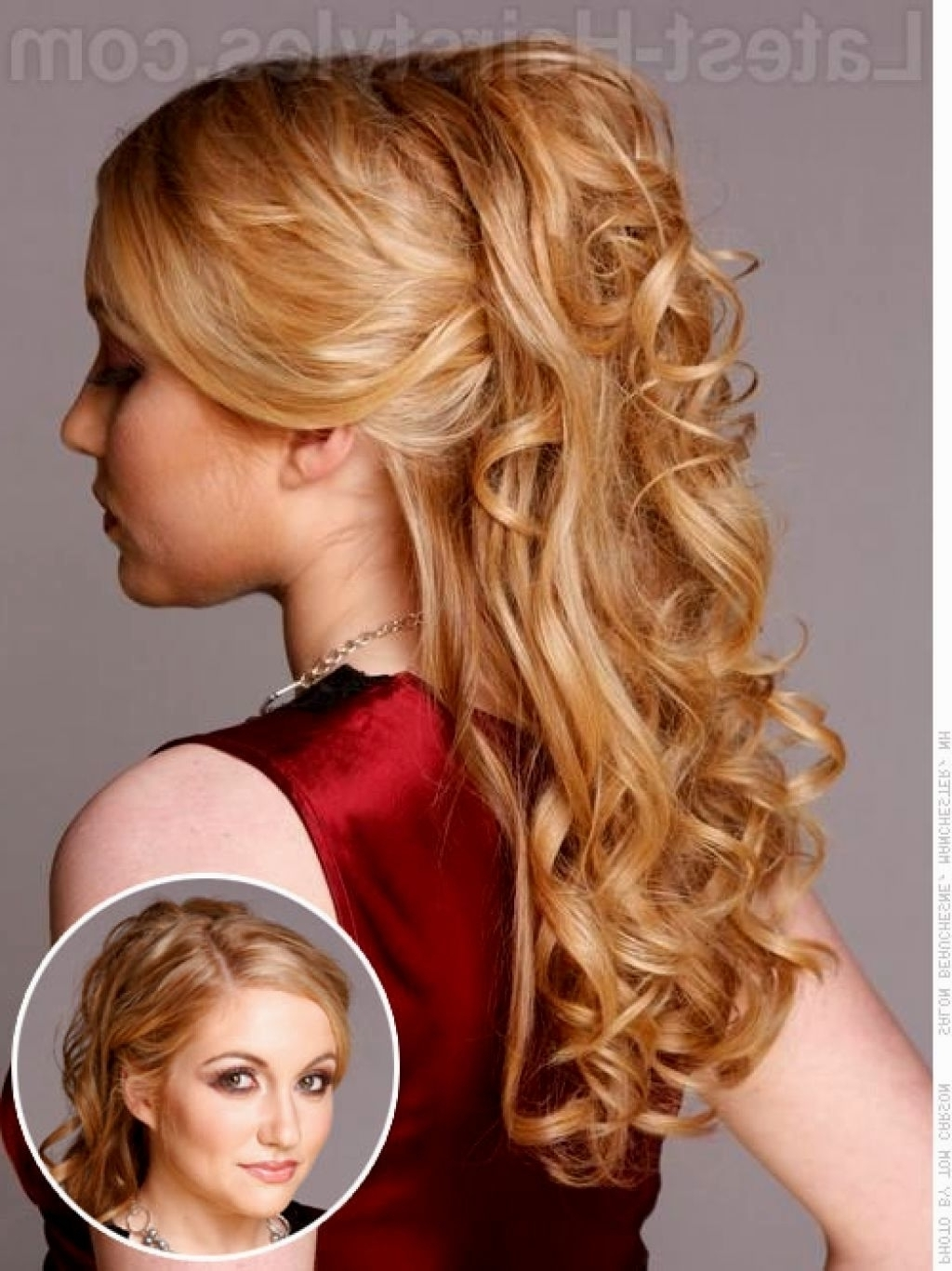 Prom Hairstyles Shoulder Length – Hairstyle Picture Magz Regarding Well Known Wedding Hairstyles For Medium Length Thick Hair (View 12 of 15)