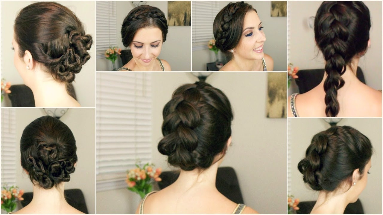 Quick & Easy Hairstyles For Wet Hair (Gallery 12 of 15)