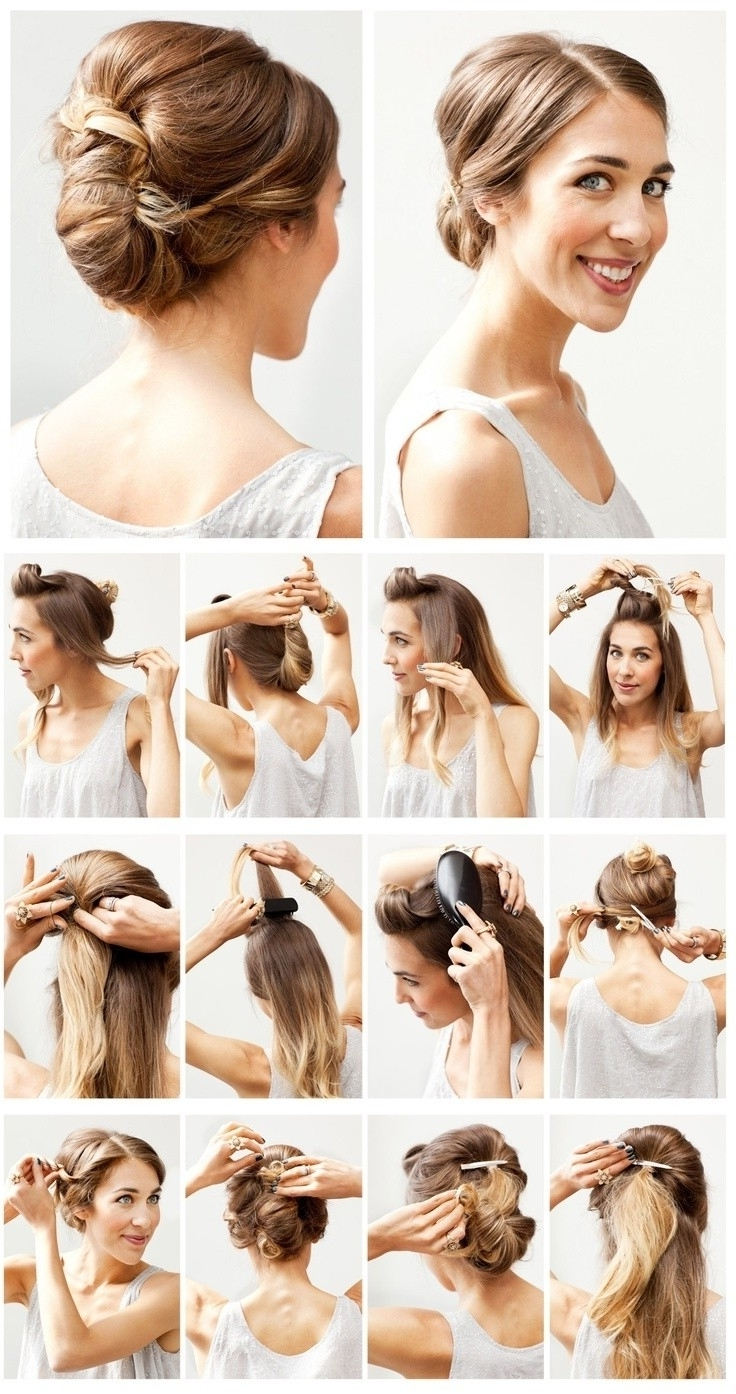 15 Best Ideas Of Easy Bridesmaid Hairstyles For Medium Length Hair