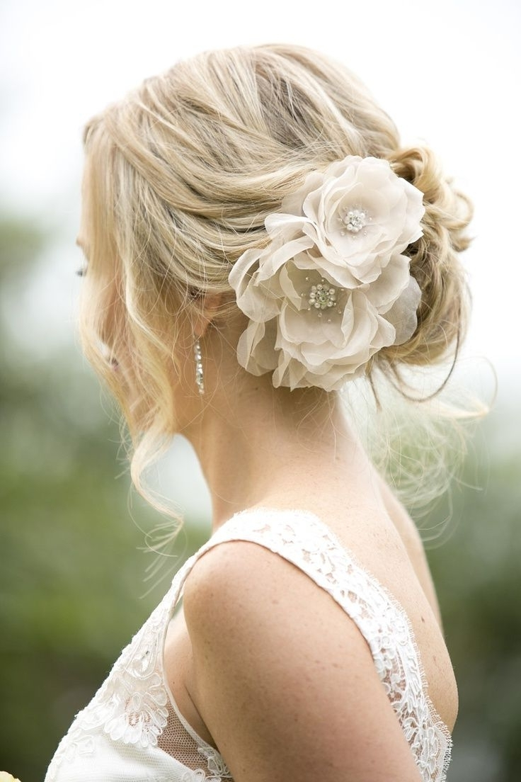 Featured Photo of Garden Wedding Hairstyles For Bridesmaids