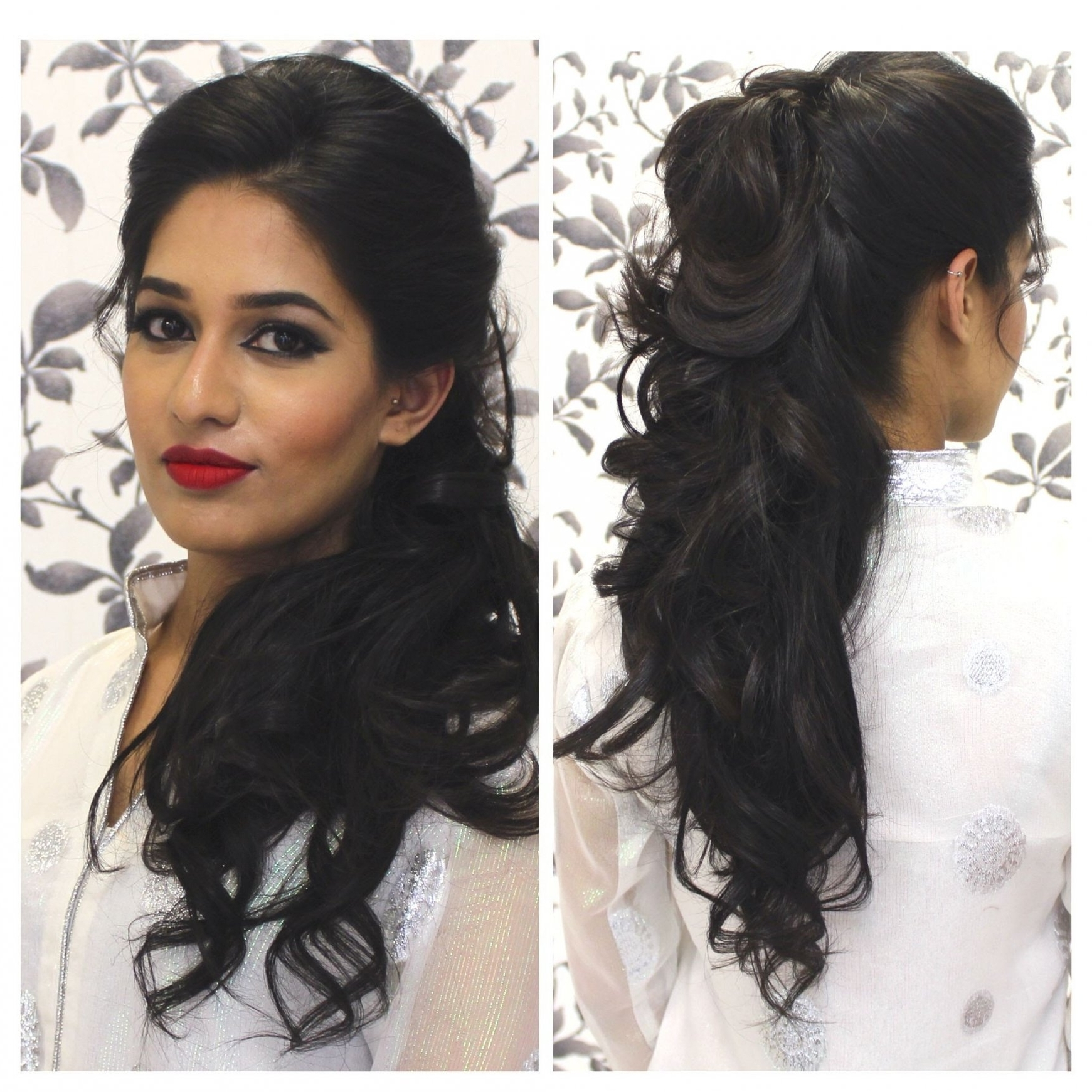 Recent Indian Wedding Hairstyles For Short And Thin Hair Throughout Black Wedding Hairstyles For Short Hair For Indian Girl Tutorial (View 12 of 15)
