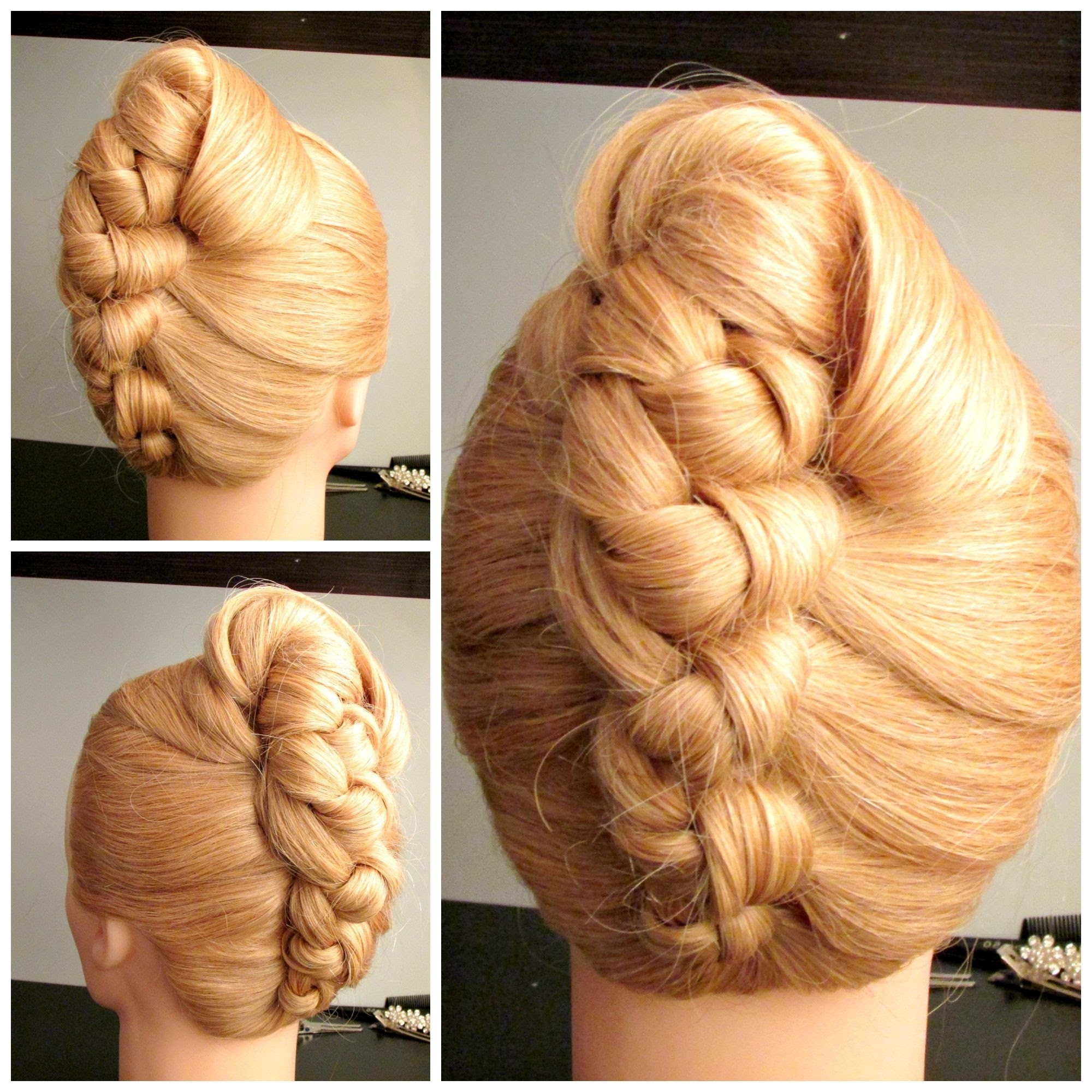 Recent Knot Wedding Hairstyles With Alluring Hairstyles French Bun For Knot French Roll Prom Hairstyle (View 10 of 15)