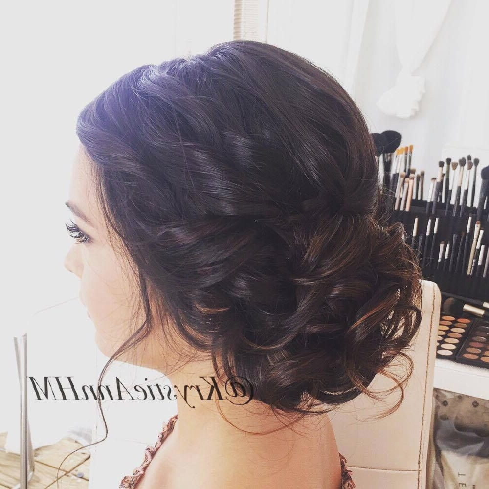 Recent Low Updo Wedding Hairstyles Throughout Wedding Hairstyles : View Low Updo Wedding Hairstyles Tutorial In (View 10 of 15)