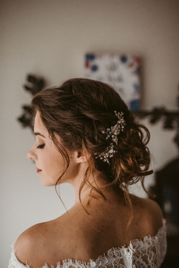 Recent Vintage Updo Wedding Hairstyles Throughout Unique Romantic Vintage Wedding Hairstyles Collection (View 11 of 15)