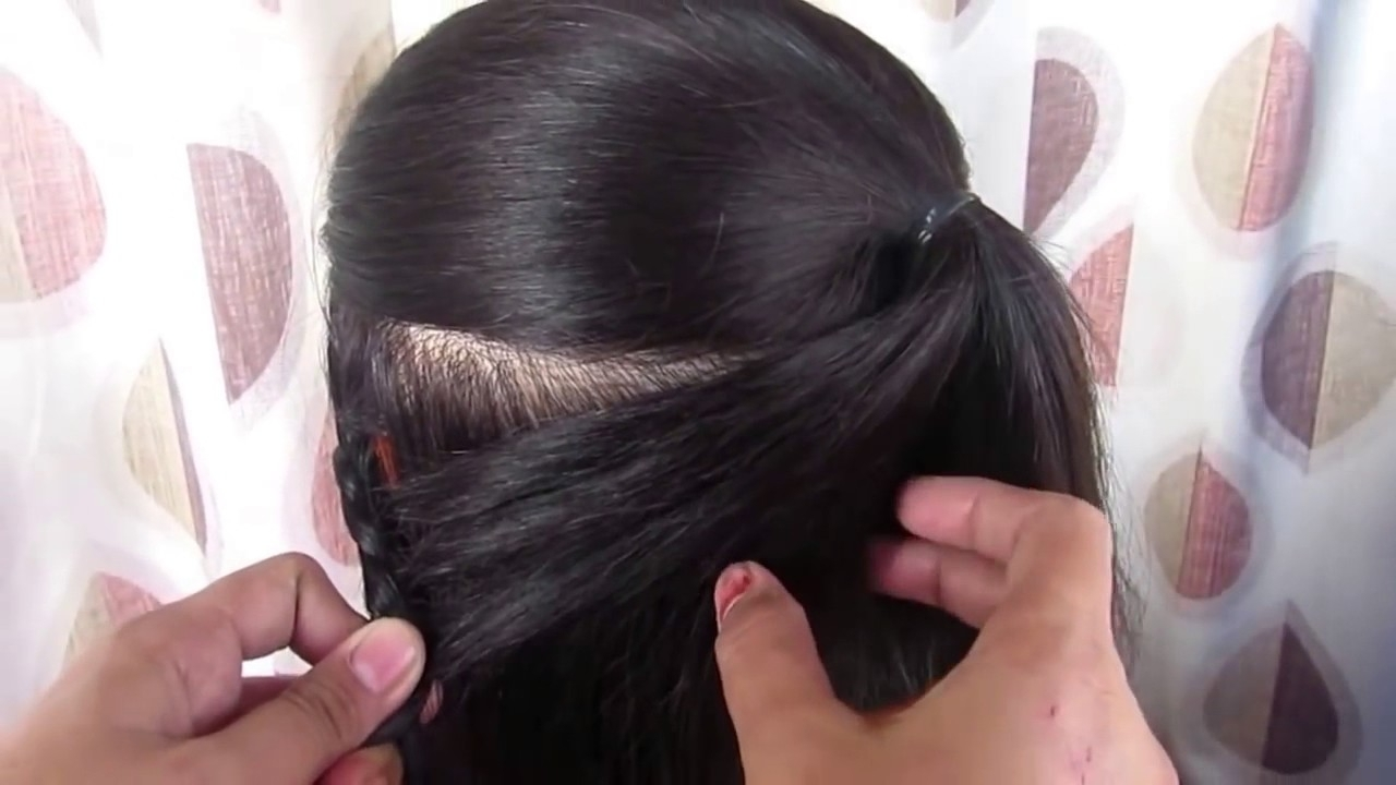 Recent Wedding Easy Hairstyles For Medium Hair With Regard To 3 Easy Hairstyles For Indian Wedding Occasions For Medium Hair (View 2 of 15)
