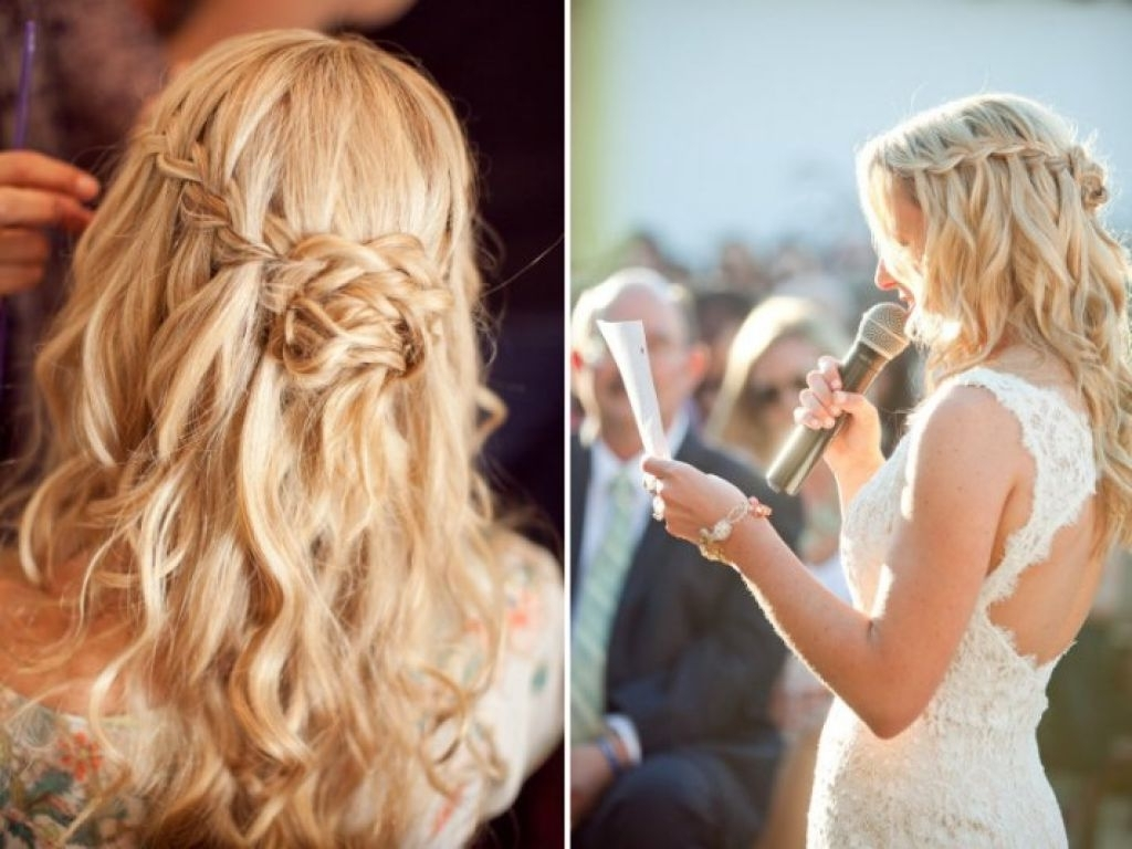 Recent Wedding Hairstyles For Long Boho Hair Regarding Braided Wedding Hairstyle Bridal Beauty – Girly Hairstyle Inspiration (View 13 of 15)