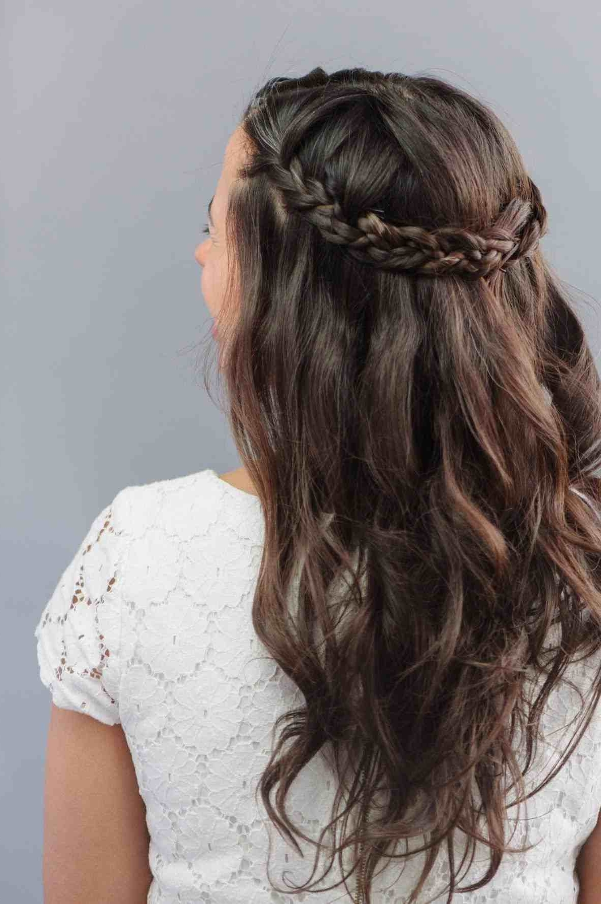 Recent Wedding Hairstyles For Long Hair With Braids Throughout Appealing Wedding Hairstyles For Long Hair With Braids On The Side (View 14 of 15)