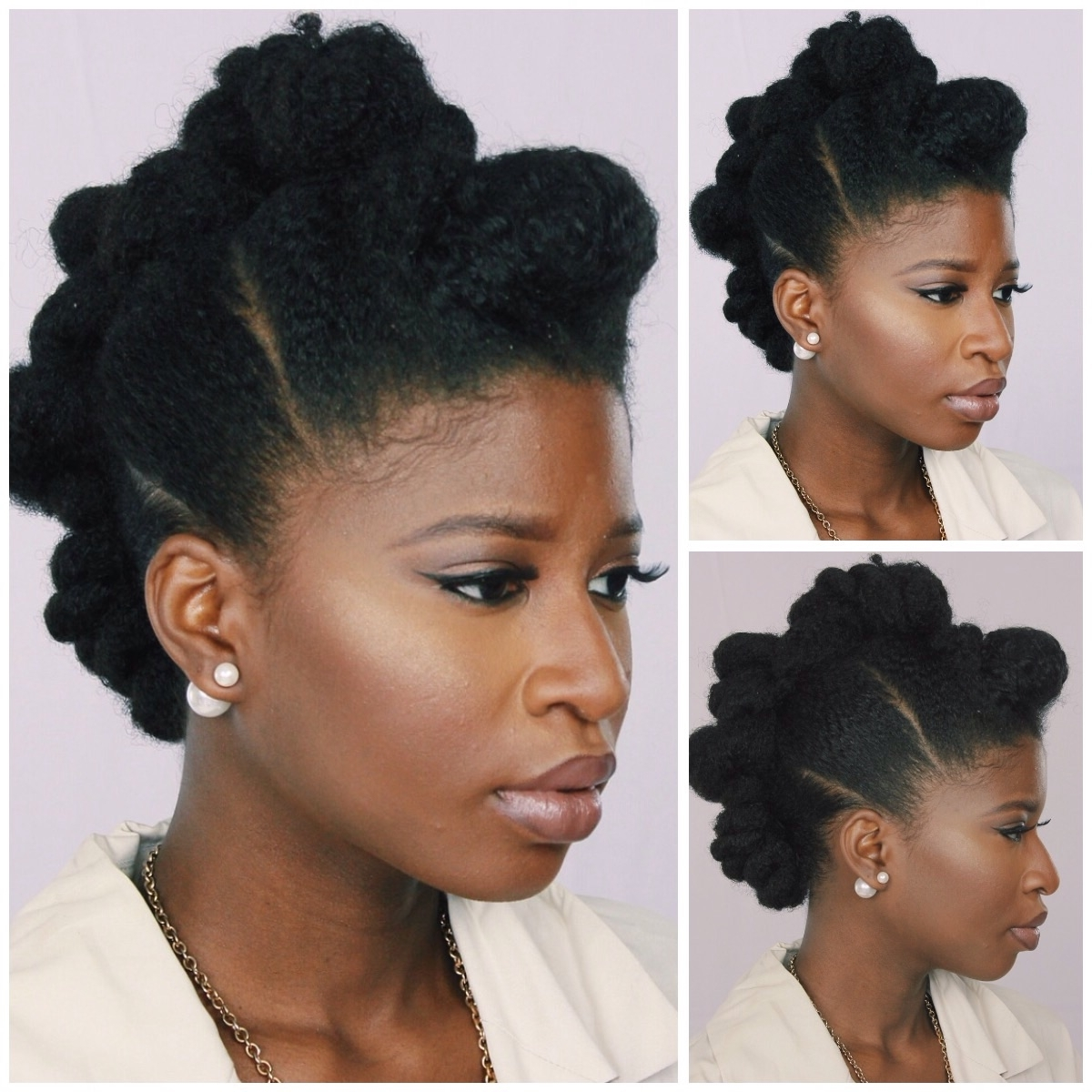 Recent Wedding Hairstyles For Natural Afro Hair Pertaining To Dreaded Natural Hair For Wedding Short Brides Afro Hairstyles (View 14 of 15)