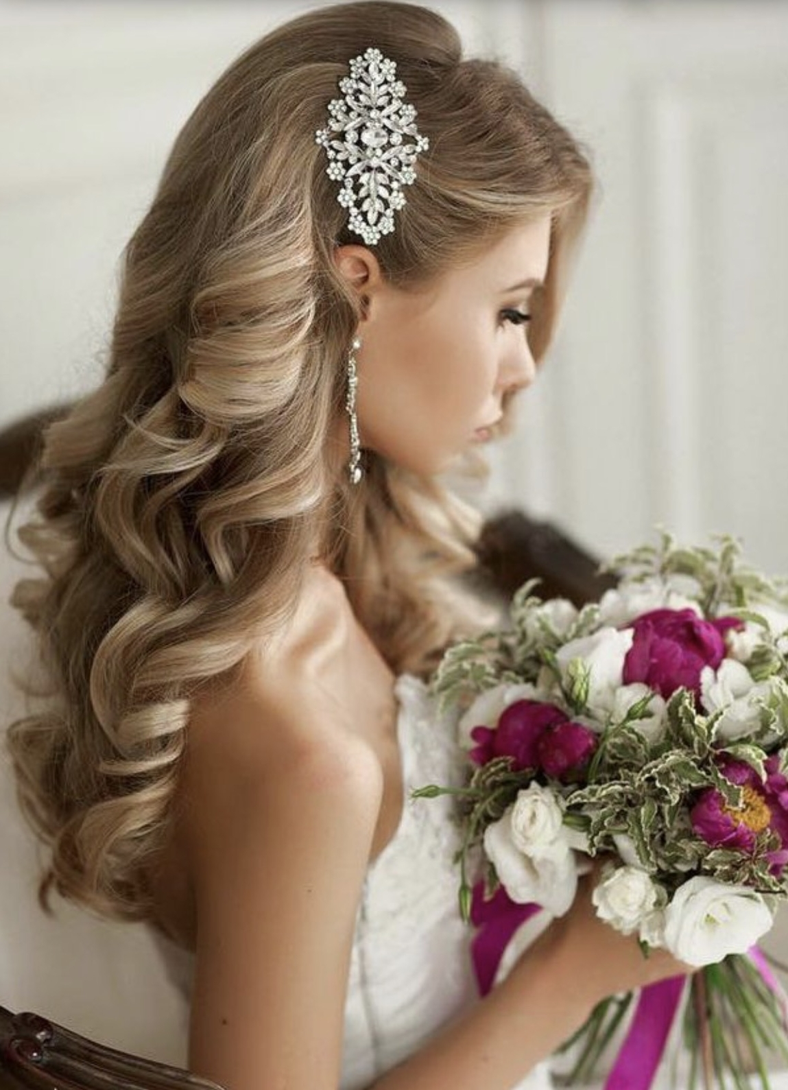 Recent Wedding Hairstyles For Older Brides For Weddings (View 7 of 15)