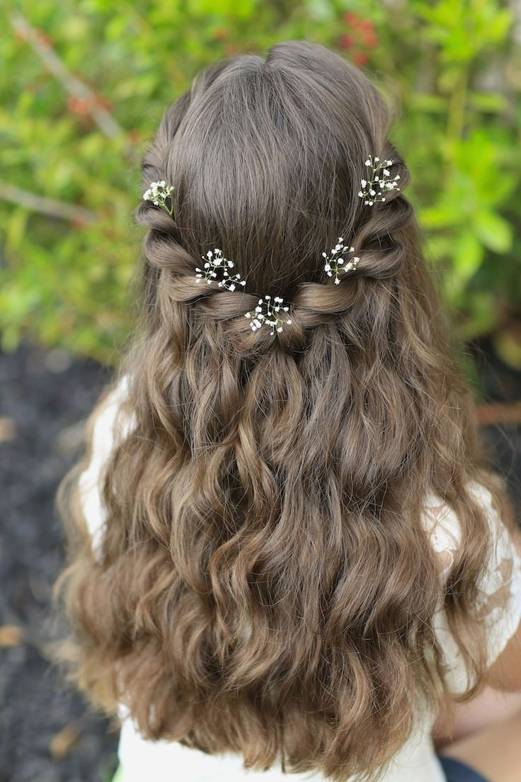 Recent Wedding Hairstyles For Teenage Bridesmaids Pertaining To Wedding Hairstyles : Wedding Hairstyles For Teenage Bridesmaids New (View 11 of 15)