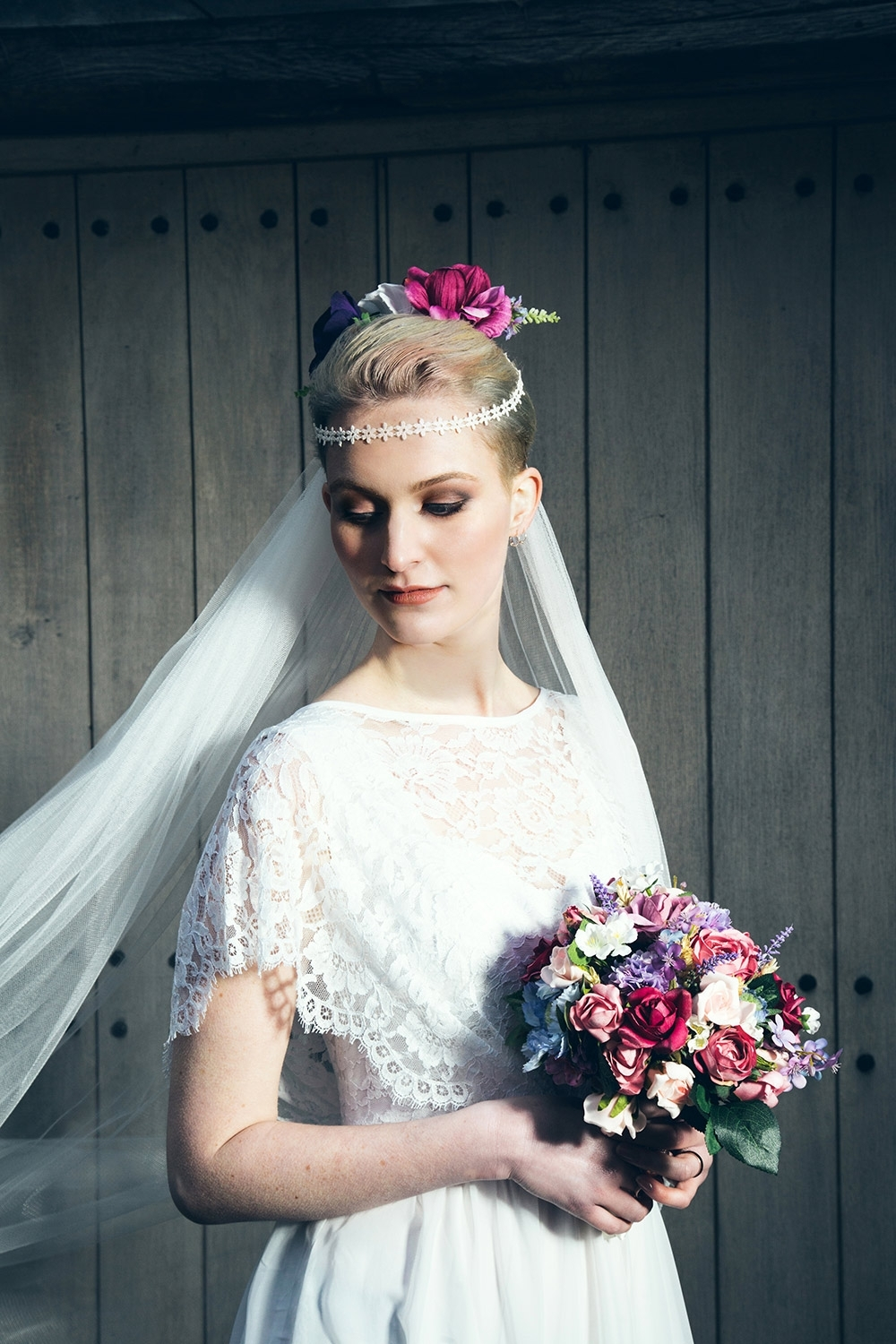 Retro Wedding Hairstyles (View 13 of 15)