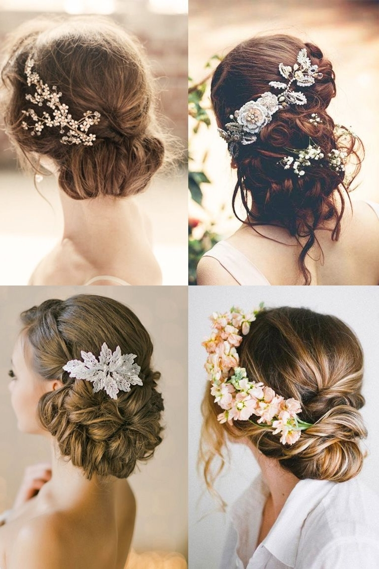 Romantic Bridal For Widely Used Summer Wedding Hairstyles For Long Hair (View 10 of 15)