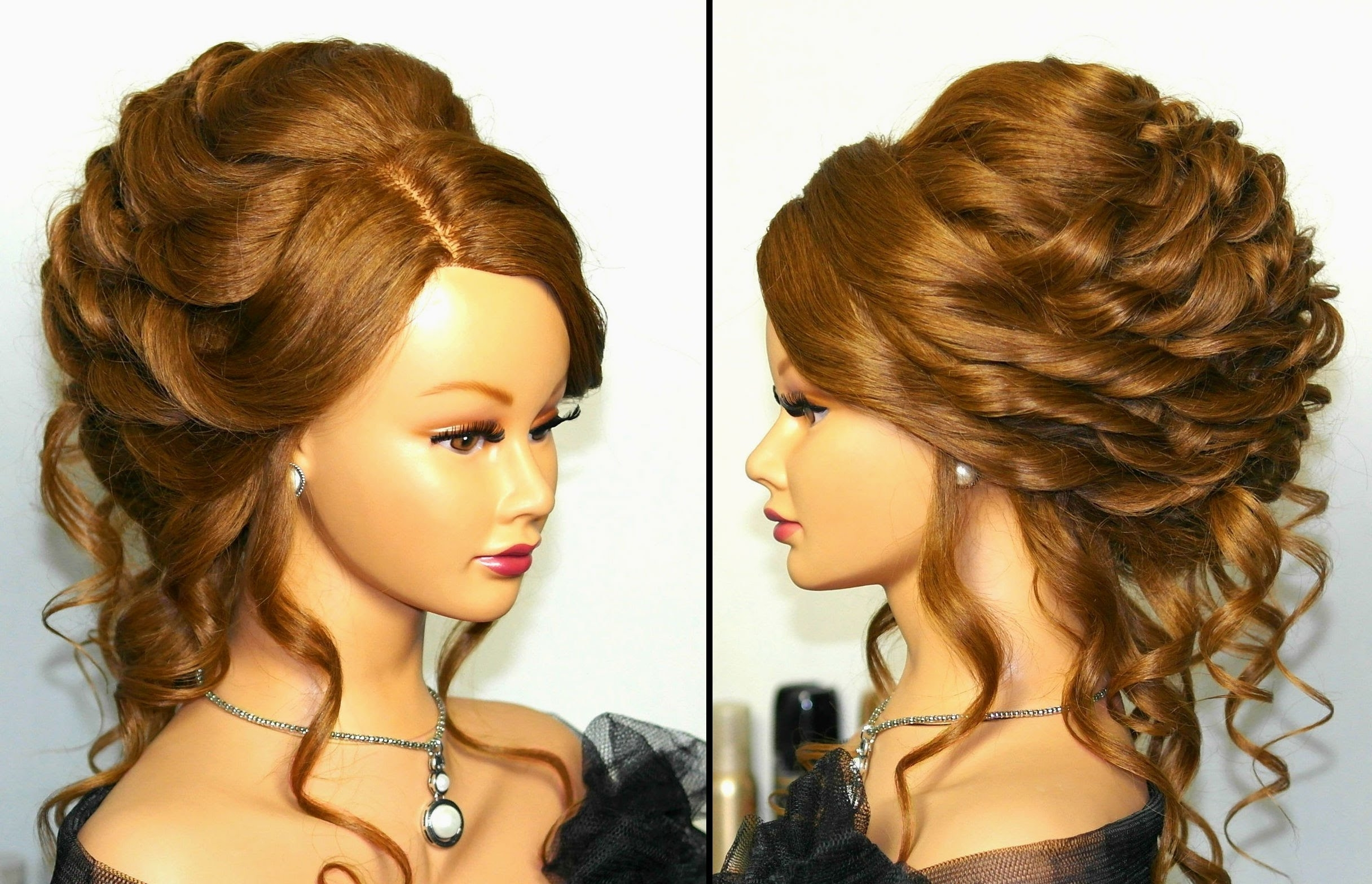 Romantic Bridal, Wedding Hairstyle For Long Hair (View 2 of 15)