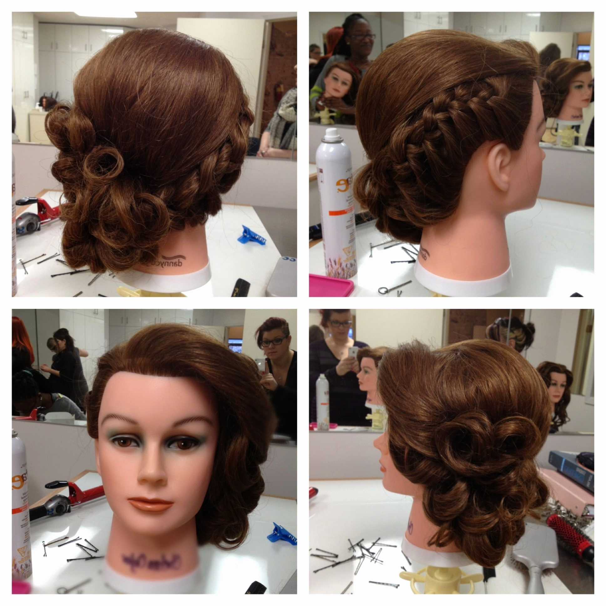 Sensational Pin Curl Wedding Hairstyles – Hair Inspiration Intended For Well Known Pin Curls Wedding Hairstyles (View 9 of 15)