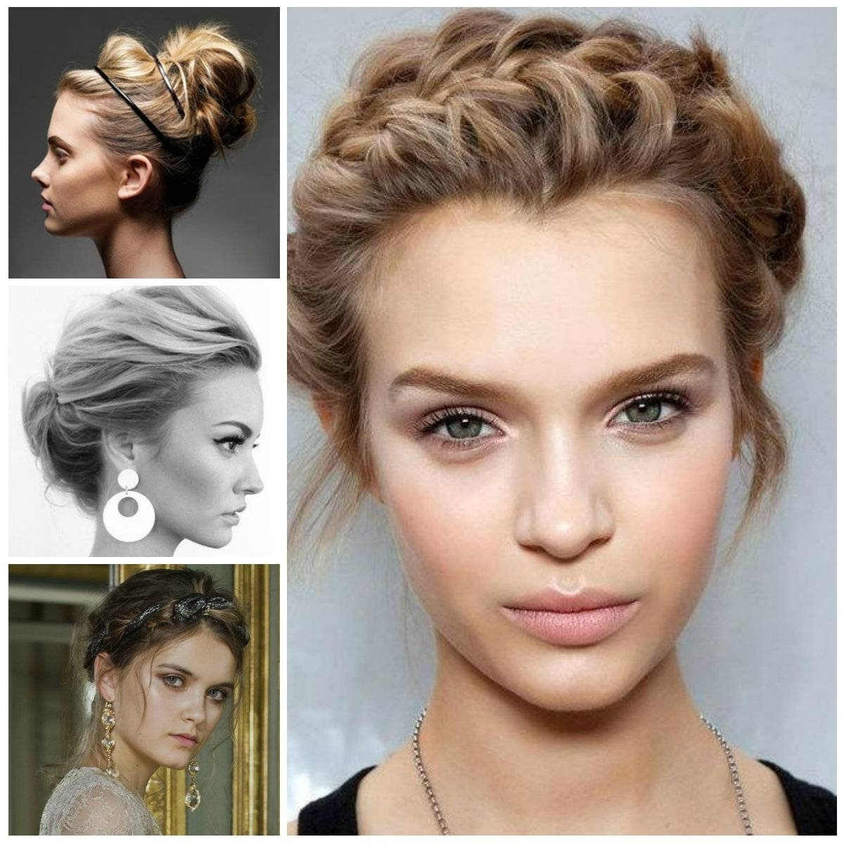 Short Hair Casual Updos Hairstyle For Women Man – Hairstyle With Best And Newest Casual Wedding Hairstyles For Short Hair (View 11 of 15)