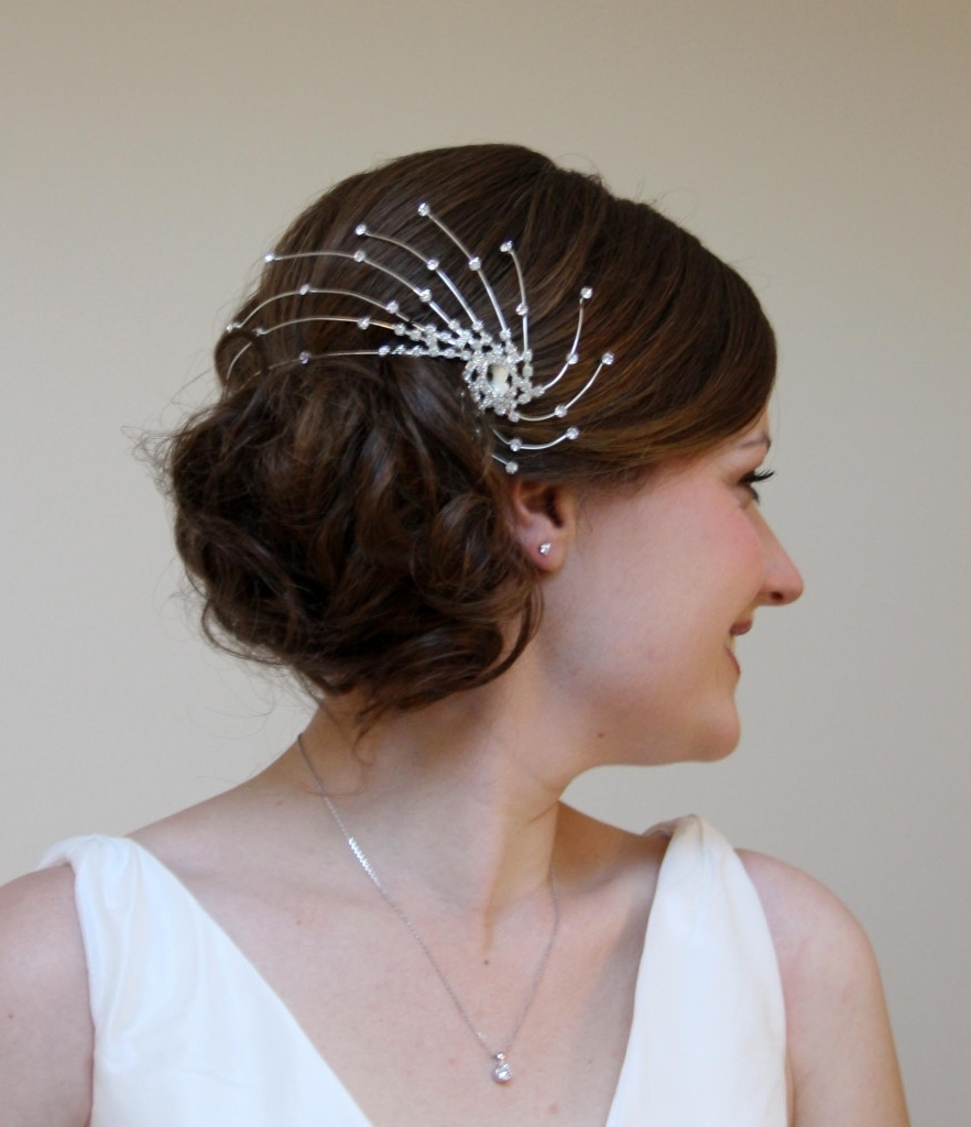 Side Bun Hairstyles For Wedding Amelia Garwood – Wedding Hair & Make Pertaining To Popular Norwich Wedding Hairstyles (View 2 of 15)