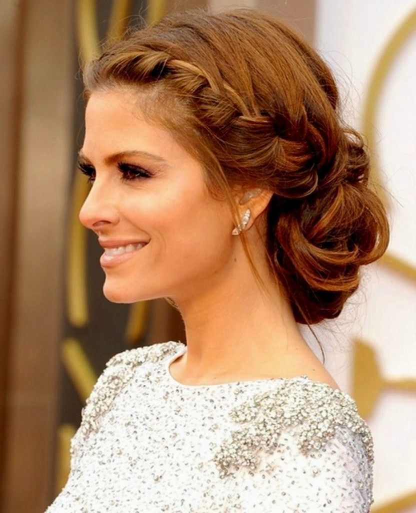 Side Ponytail Wedding Hairstyles Bridesmaid Hairstyles Side Regarding Fashionable Wedding Hairstyles On The Side (View 14 of 15)