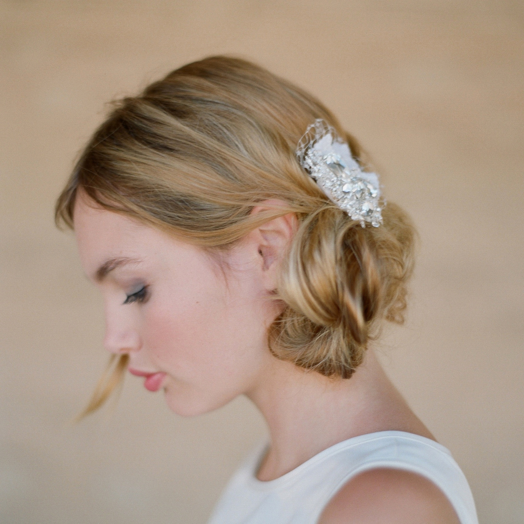 Simple Bridesmaid Hairstyles For Short Hair Marvelous Wedding With Regard To Recent Wedding Hairstyles For Short Brown Hair (View 12 of 15)