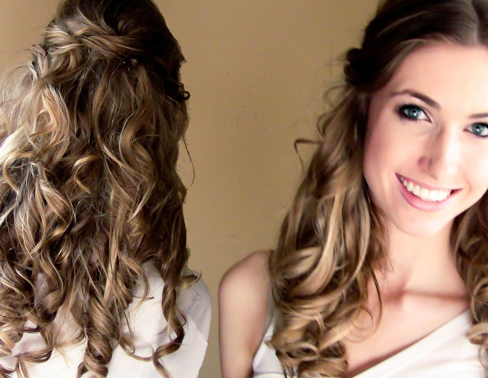 Simple Diy Wedding Hairstyle #weddinghair #budgetwedding With Regard To Well Known Diy Wedding Guest Hairstyles (View 9 of 15)