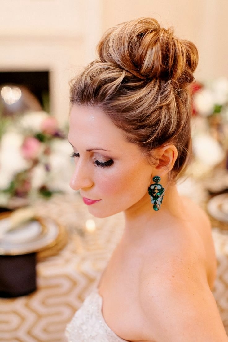 Simple Wedding Hairstyles Easy Wedding Hairstyles For Bridesmaids Regarding Famous Simple Wedding Hairstyles For Bridesmaids (View 12 of 15)