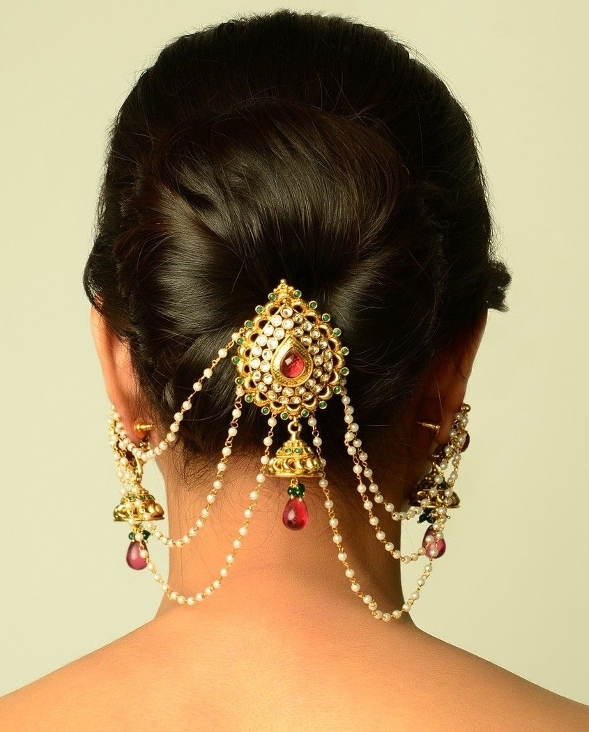 South Asian & Muslim Weddings Within Popular Wedding Juda Hairstyles (View 8 of 15)
