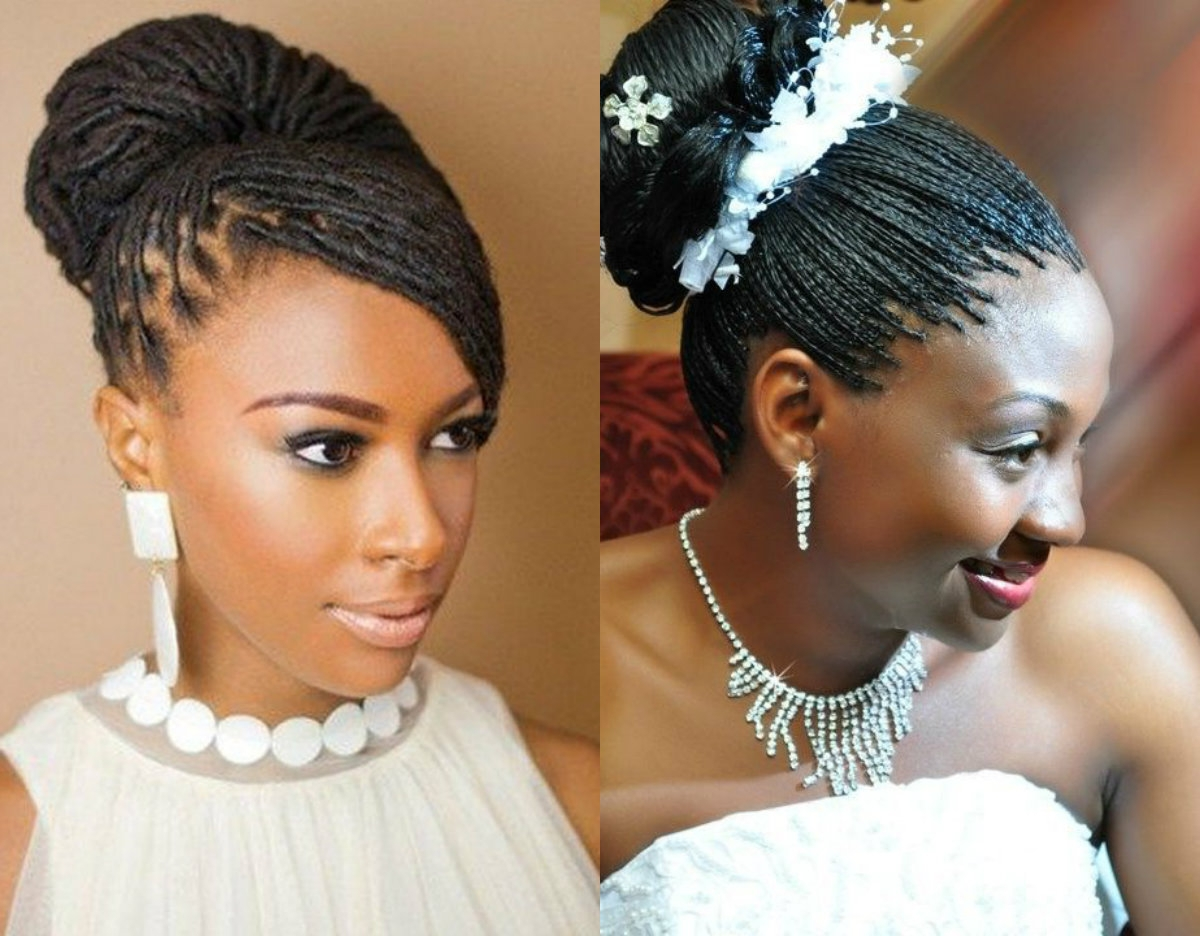 Spring Season Box Braids Wedding Hairstyles 2017 Easy Of Micro Intended For Most Popular Wedding Hairstyles With Box Braids (View 4 of 15)