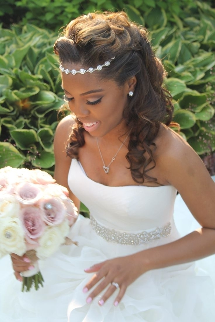 Stirring Wedding Hairstyles For Black Brides Cute Bride Ideas Pertaining To Well Liked Wedding Hairstyles With Braids For Black Bridesmaids (View 13 of 15)